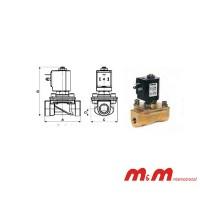 ELECTROVÁLVULA D189DVW (M&M INTERNACIONAL)