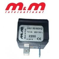 BOBINA 2200 M&M