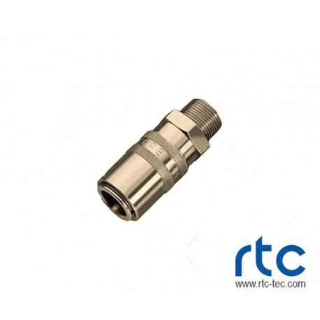 KUPPLUNG M16X1.5 AG MIT VENTIL (HASCO)