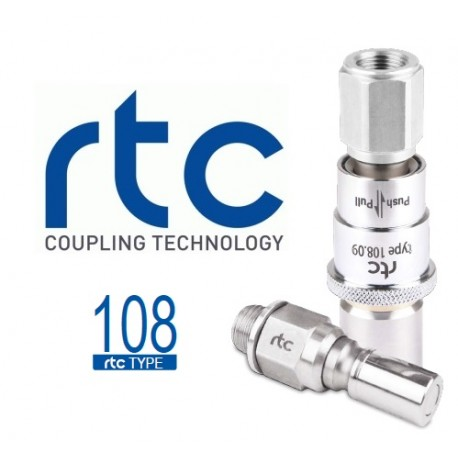 SERIE 108 RTC COUPLINGS