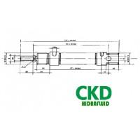 CILINDRO NEUMATICO CKM CKD